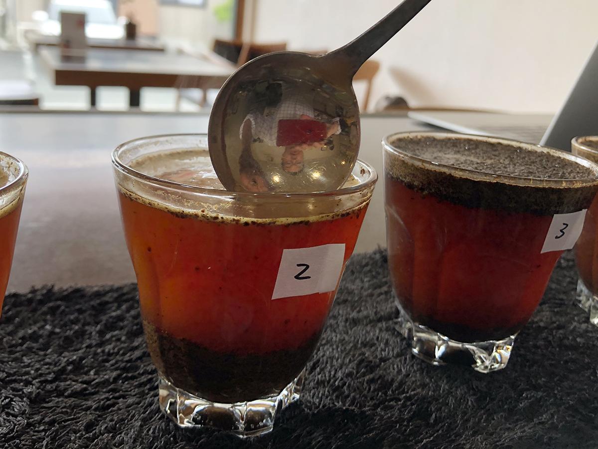 コーヒー・カッピングのためのオンライン講座の開催。